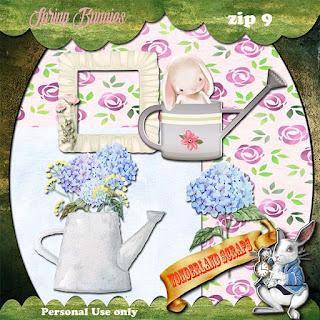 Spring Bunnies 9 freebie