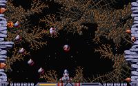 Captura de pantalla de Xenon 2 Megablast que muestra nuestra nave disparando