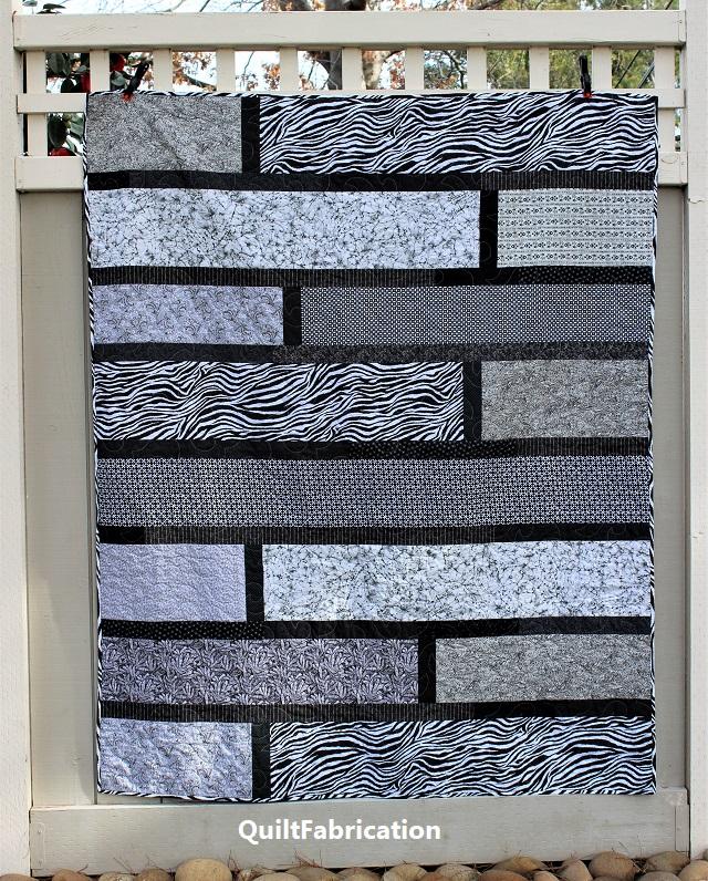 Paradise 8, a Quarter Cut quilt pattern