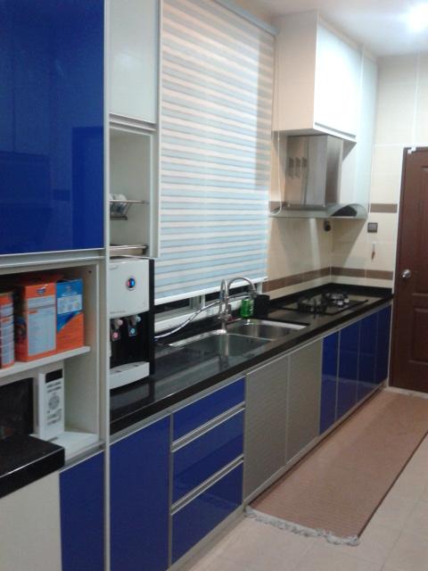 Kabinet Dapur Warna Lat Desainrumahid