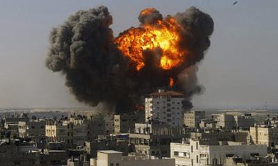la proxima guerra ataque aereo israel sobre gaza 2009 plomo fundido