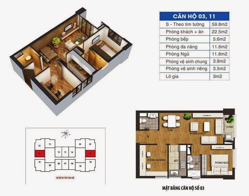 căn hộ 92m2 ct36 định công