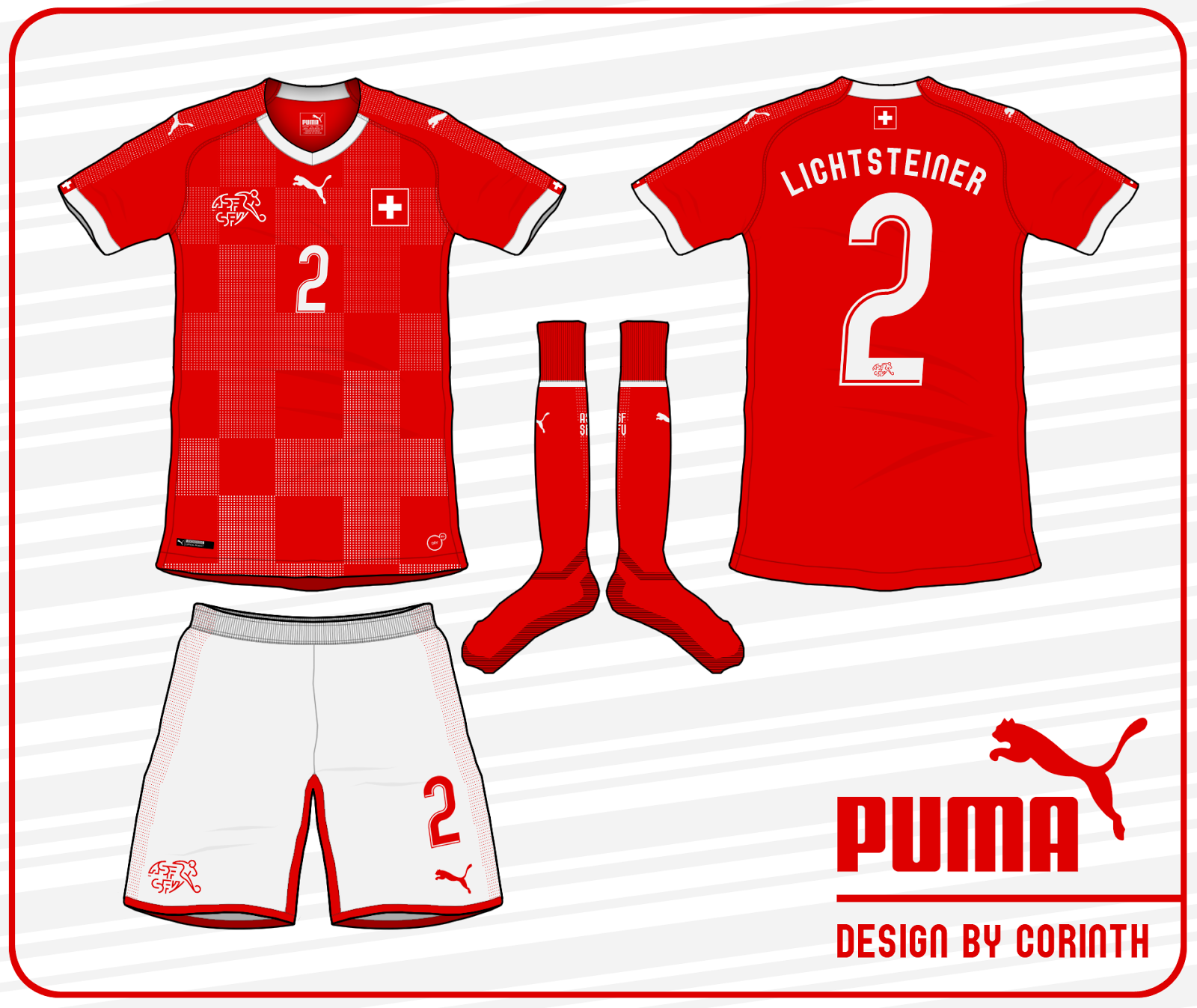 Puma 2018 template switzerland and cameroon