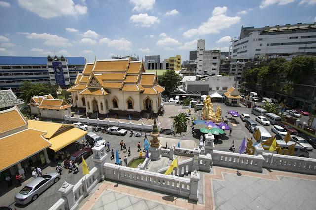 Tempio Wat Traimit-Chinatown-Bangkok