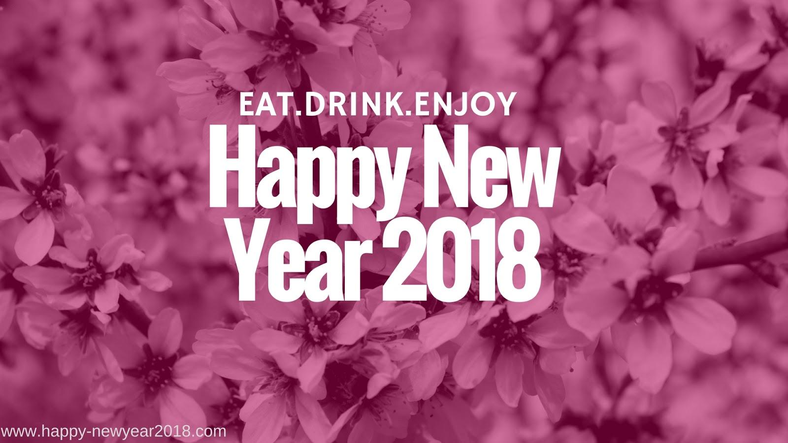 hd wallpaper 2018 happy new year