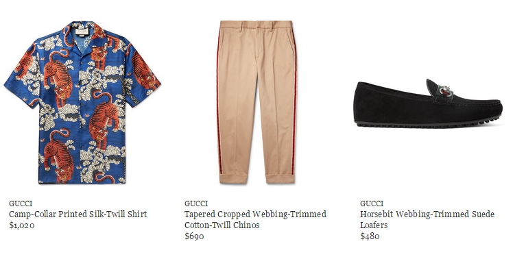 0d768d04a7c Predominant through the collection are Gucci s iconic motifs such as the bee  and tiger
