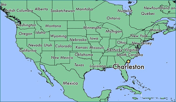 Map Of South Carolina State Map Of United States - North carolina on the us map
