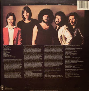 boston record album bacl cover