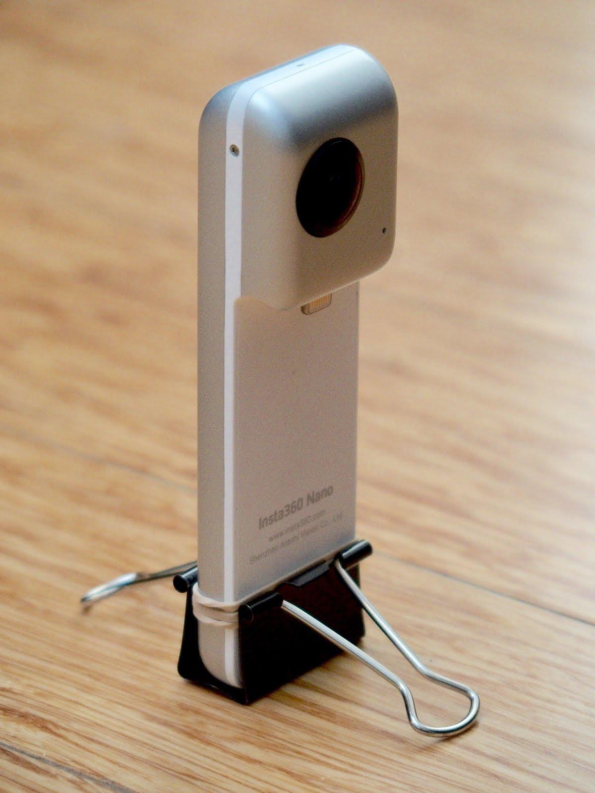 TECHNIQUE: Insta360 Nano DIY Tabletop Tripod / Stand - 360 ...