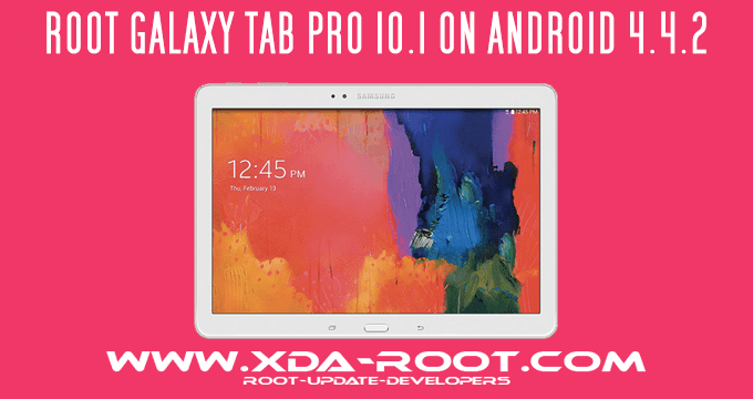 HOW-TO-ROOT-GALAXY TAB PRO 10.1-T520