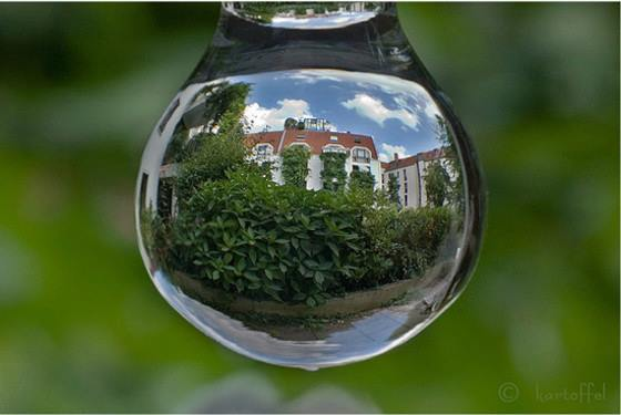 Photos, reflection of objects on the water - very beautiful