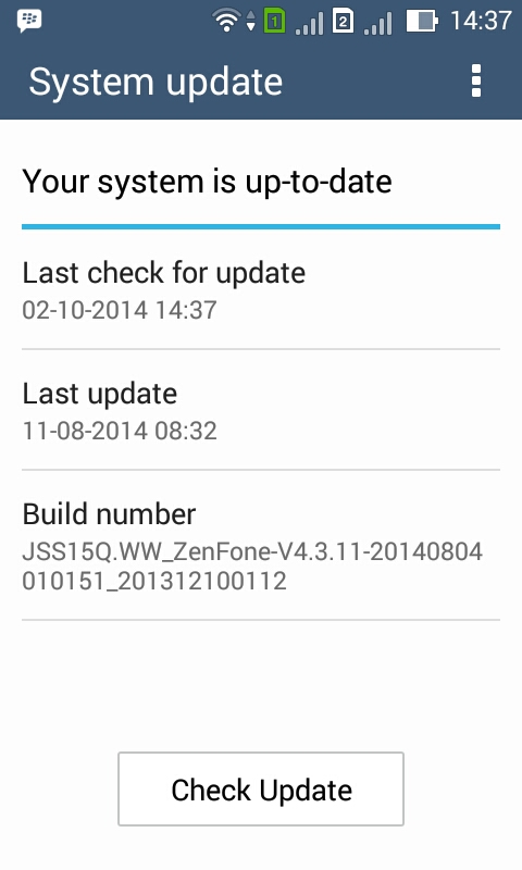 Cara Update Manual ASUS Zenfone 4 T00I