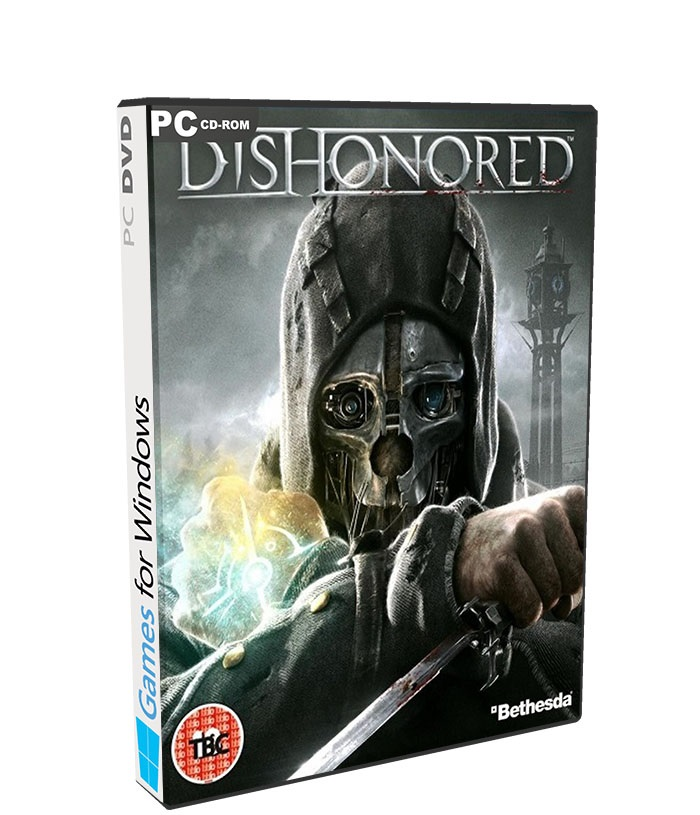 Dishonored Game of The Year Edition poster box cover