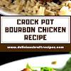 CROCK POT BOURBON CHICKEN RECIPE