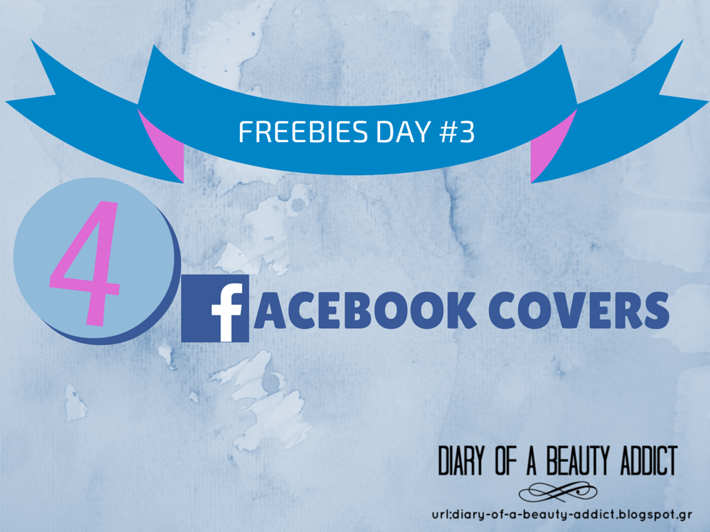 Freebies Day #3: 4 facebook covers