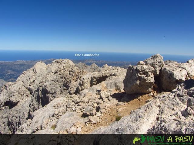 Mar Cantábrico desde el Torrecerredo