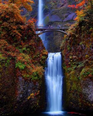 10 Tempat Pemandangan Alam Indah Sharing Bareng Multnomah Falls Amerika