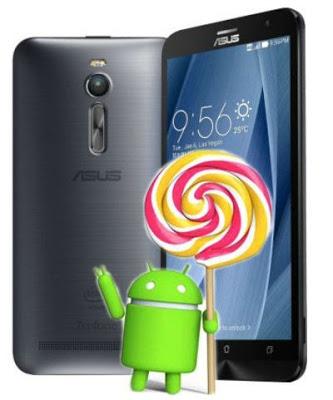 Asus Zenfone 2 ZE551ML Official Firmware 5.1 Lollipop ...