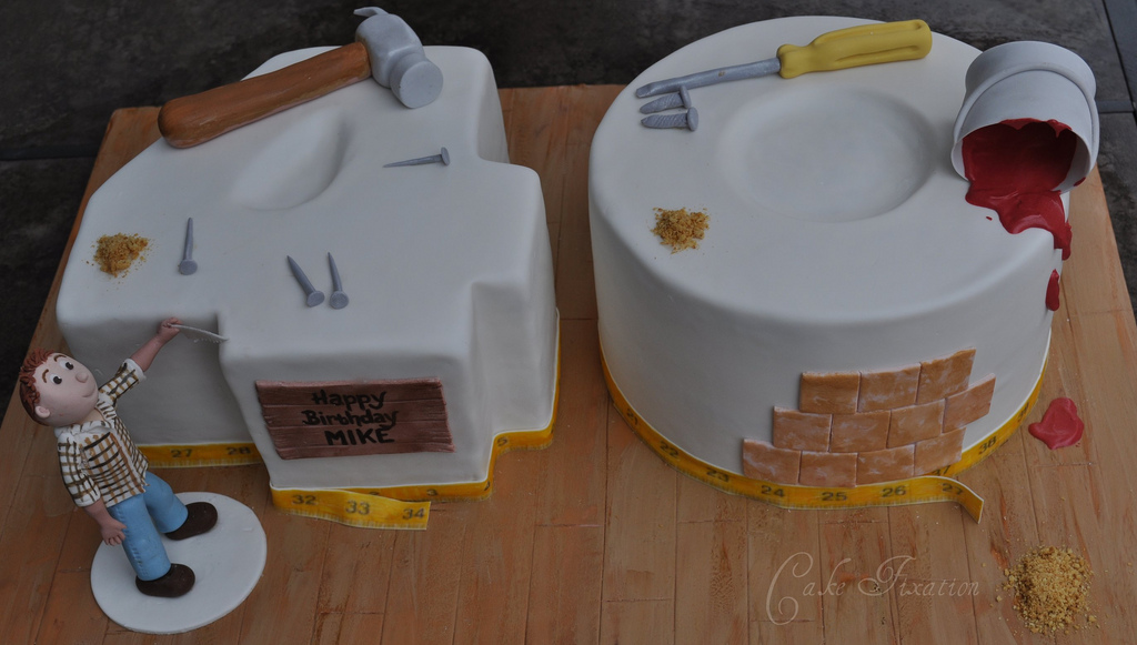 Funny Cake Ideas For 40th Birthday Photograph B