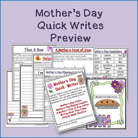 Mother's Day Resource Round Up