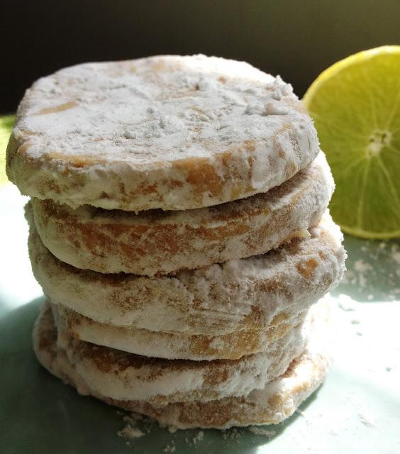 Sweet Kwisine, Martha Stewart, citron, biscuits, cookies