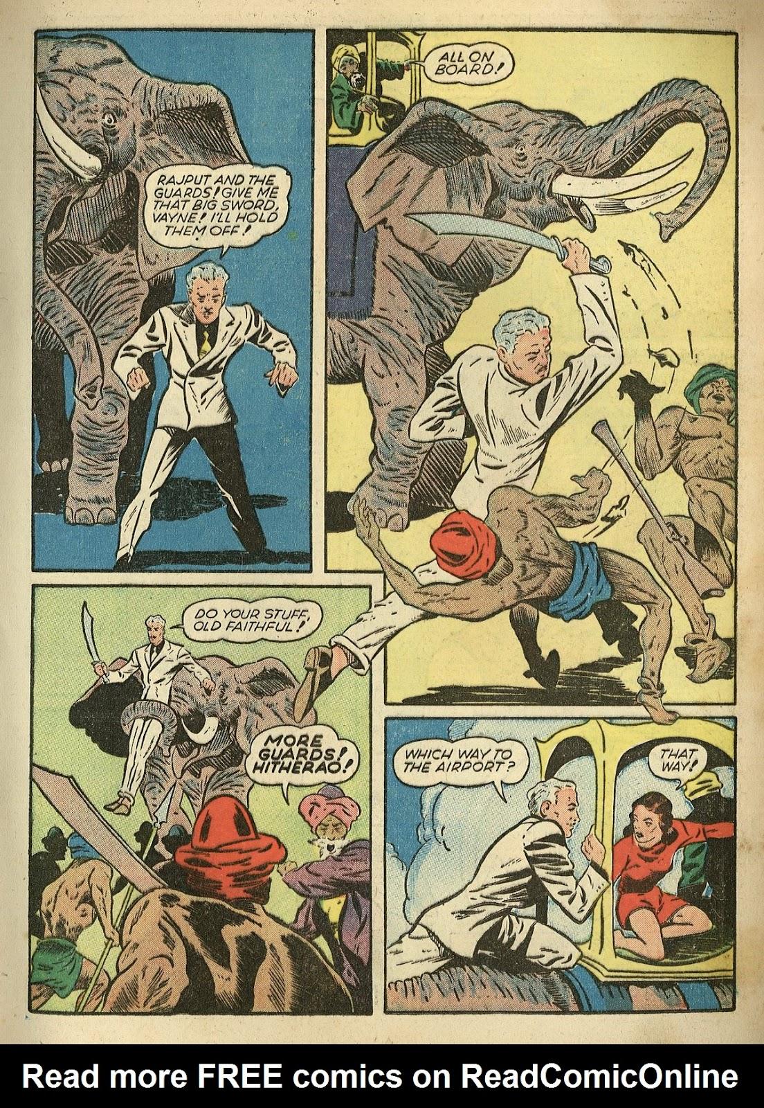 Read online Super-Magician Comics comic -  Issue #1 - 33