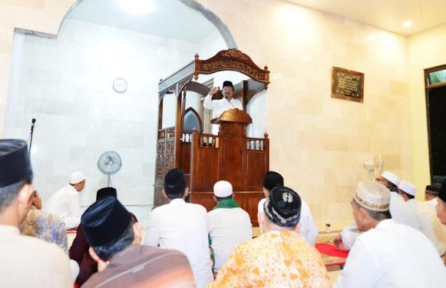 Safari Ramadhan di Masjid Al Hidayah Tiban Kampung, Batam, Nurdi: Bersungguh-sungguh untuk Kebaikan dan Keberhasilan