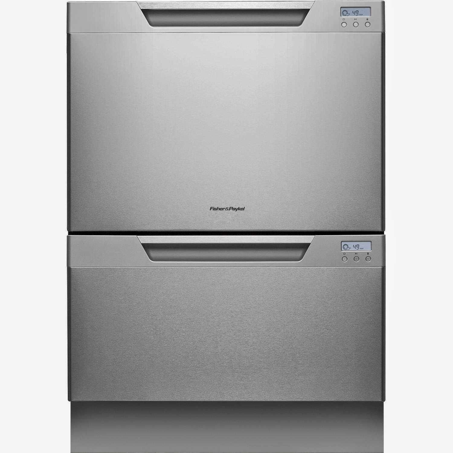 Fisher Paykel Dishdrawer 24 Inches Stainless Steel Semi Integrated Dishwashers
