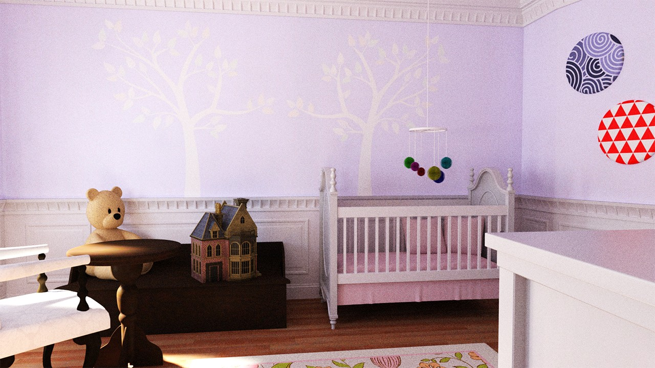 Download daz studio 3 for free daz 3d nursery room for Living room 2 for daz studio