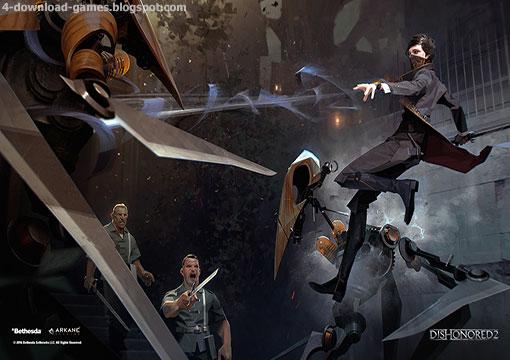 لعبة الاكشن ديسونرد Dishonored 2