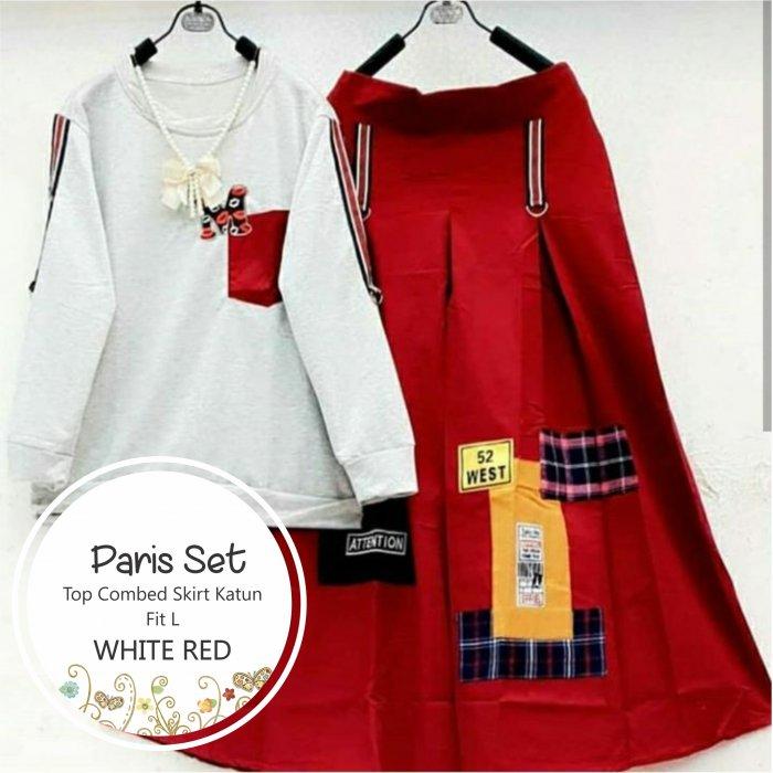 Jual Baju Setelan Wanita Paris Set