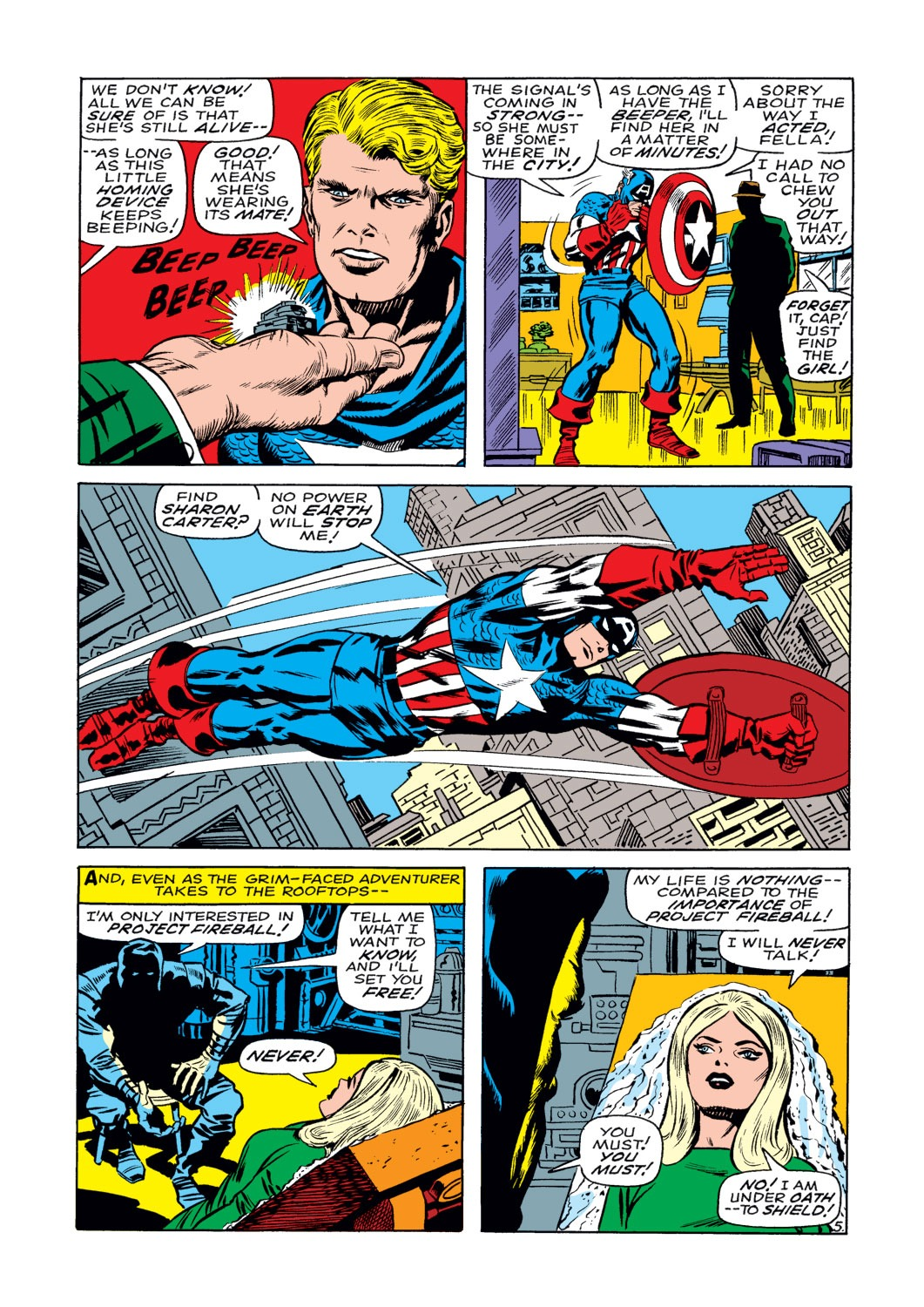 Captain America (1968) Issue #108 #22 - English 6