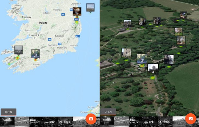 Photo Map permet d'explorer vos Google Photos sur une carte