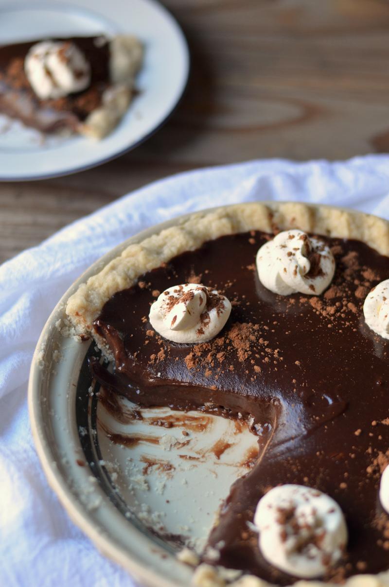 Sourdough Sunday: Easy Homemade Chocolate Pie