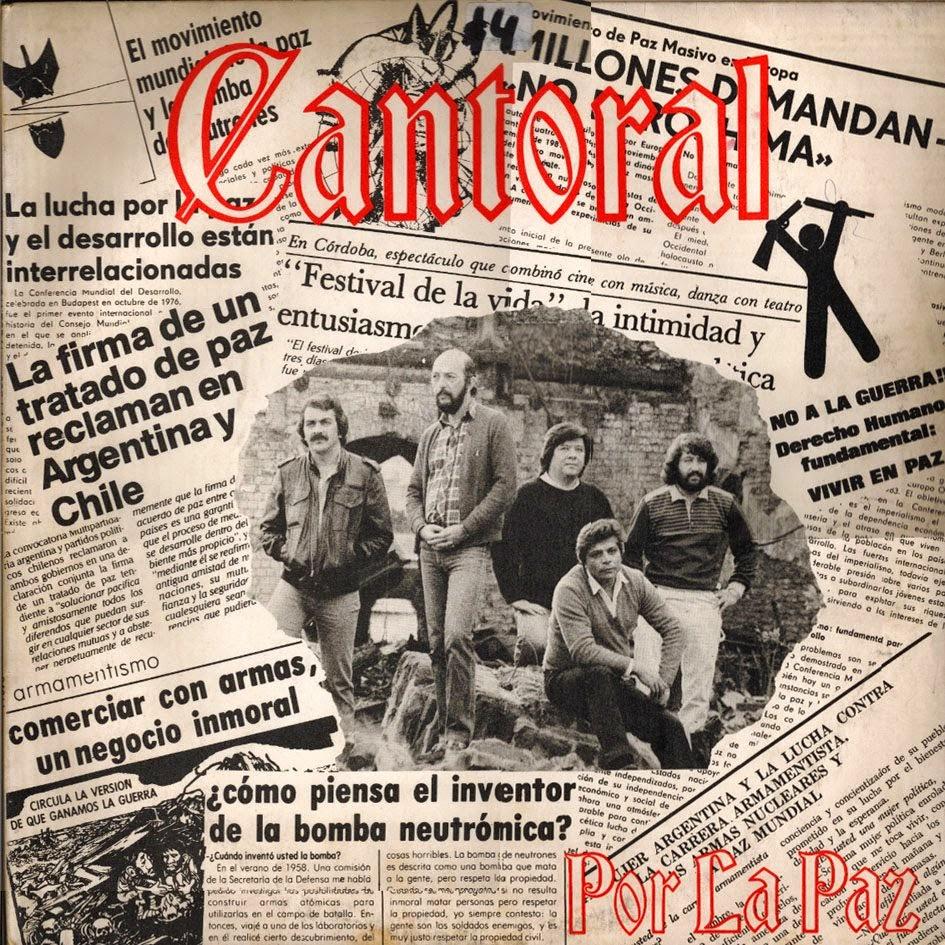 cantoral por la paz 1983 tapa disco portada