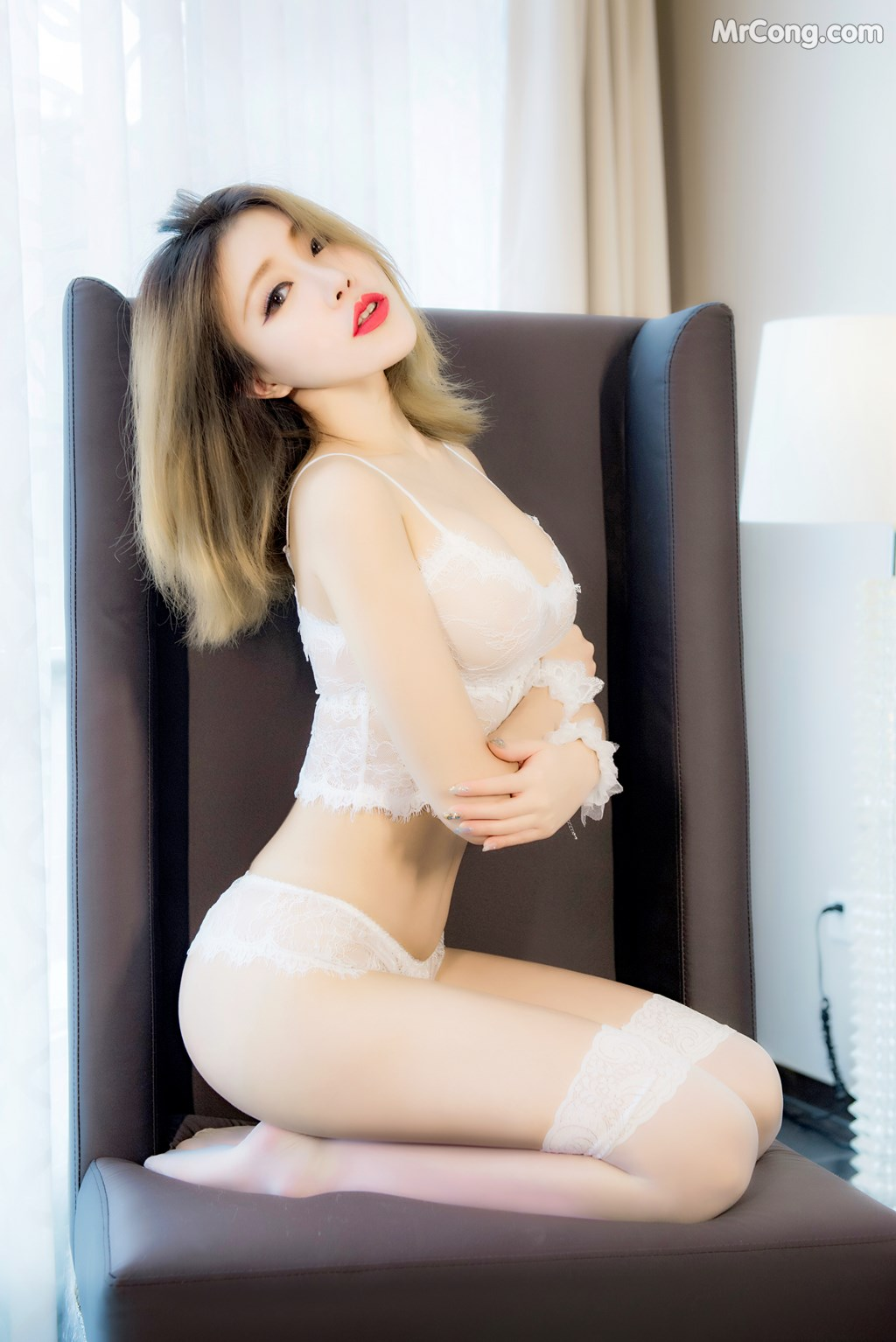 Image SLADY-2017-05-25-No.003-Zhao-Huan-Yan-MrCong.com-008 in post SLADY 2017-05-25 No.003: Người mẫu Zhao Huan Yan (赵欢颜) (46 ảnh)
