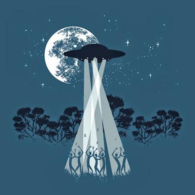 iluminación de la luna