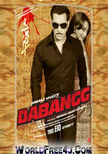 Full Movies: Dabangg (2010) Hindi Movie 325MB BRRip 420p Dabangg