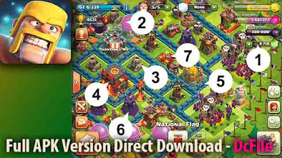 Clash of Clans  Free Download 11.866.17 Apk