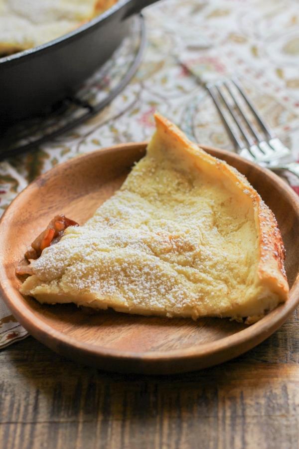 German Apple Pancake | The Chef Next Door #SundaySupper