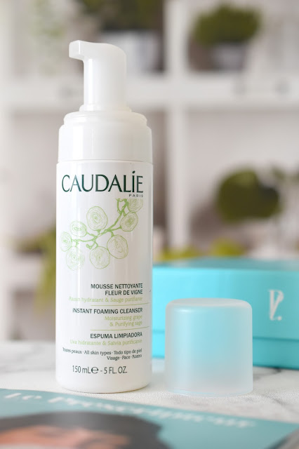Mousse nettoyante Caudalie - Prescription Lab avril 2018