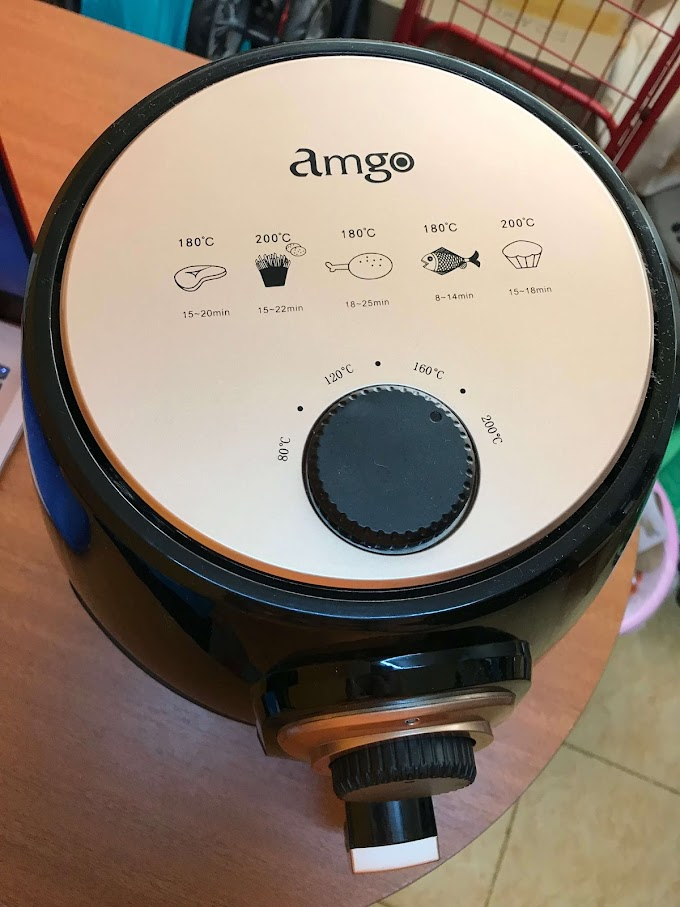 Review Air Fryer Amgo