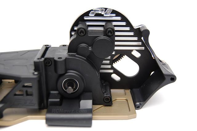 Pro-Line Pro-2 SC aluminum motor plate