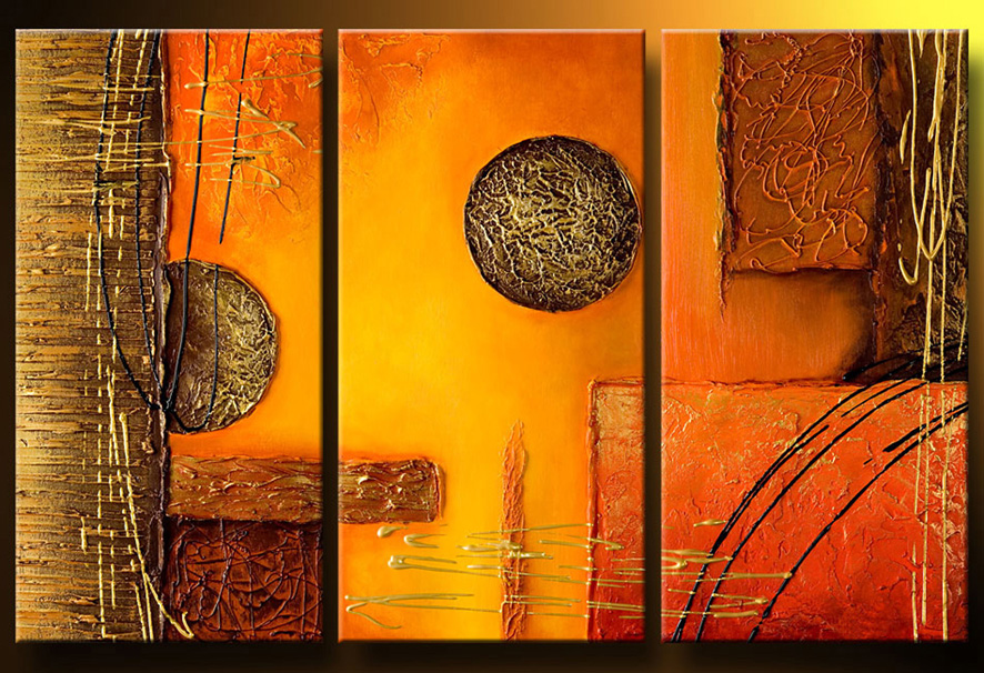 Manualidades paso a paso ideas abstractas - Ideas para pintar cuadros ...