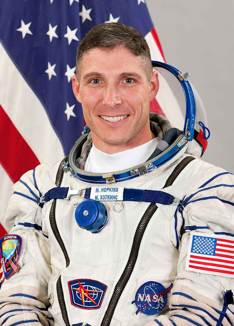Coronel e astronauta Michael S Hopkins.