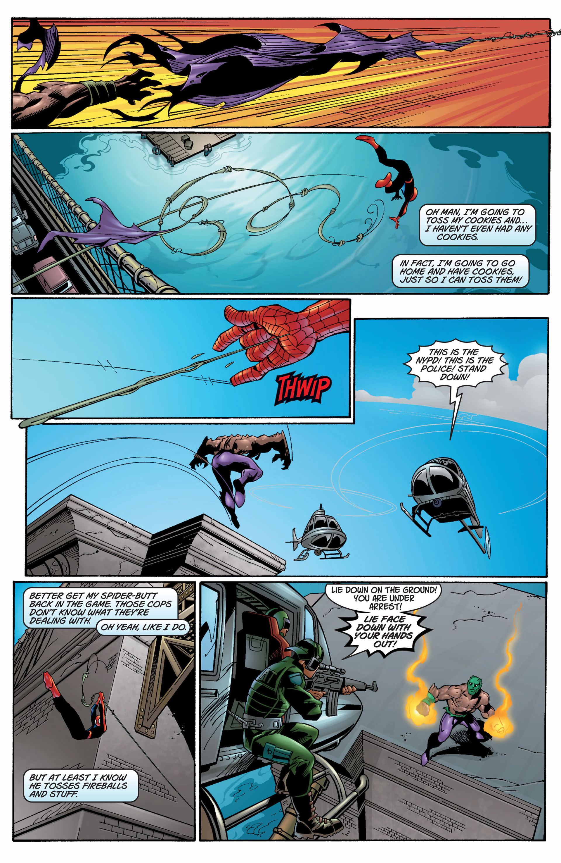 Read online Ultimate Spider-Man (2000) comic -  Issue #7 - 11