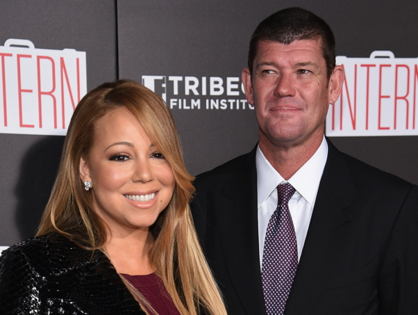 mariah carey engaged james packer