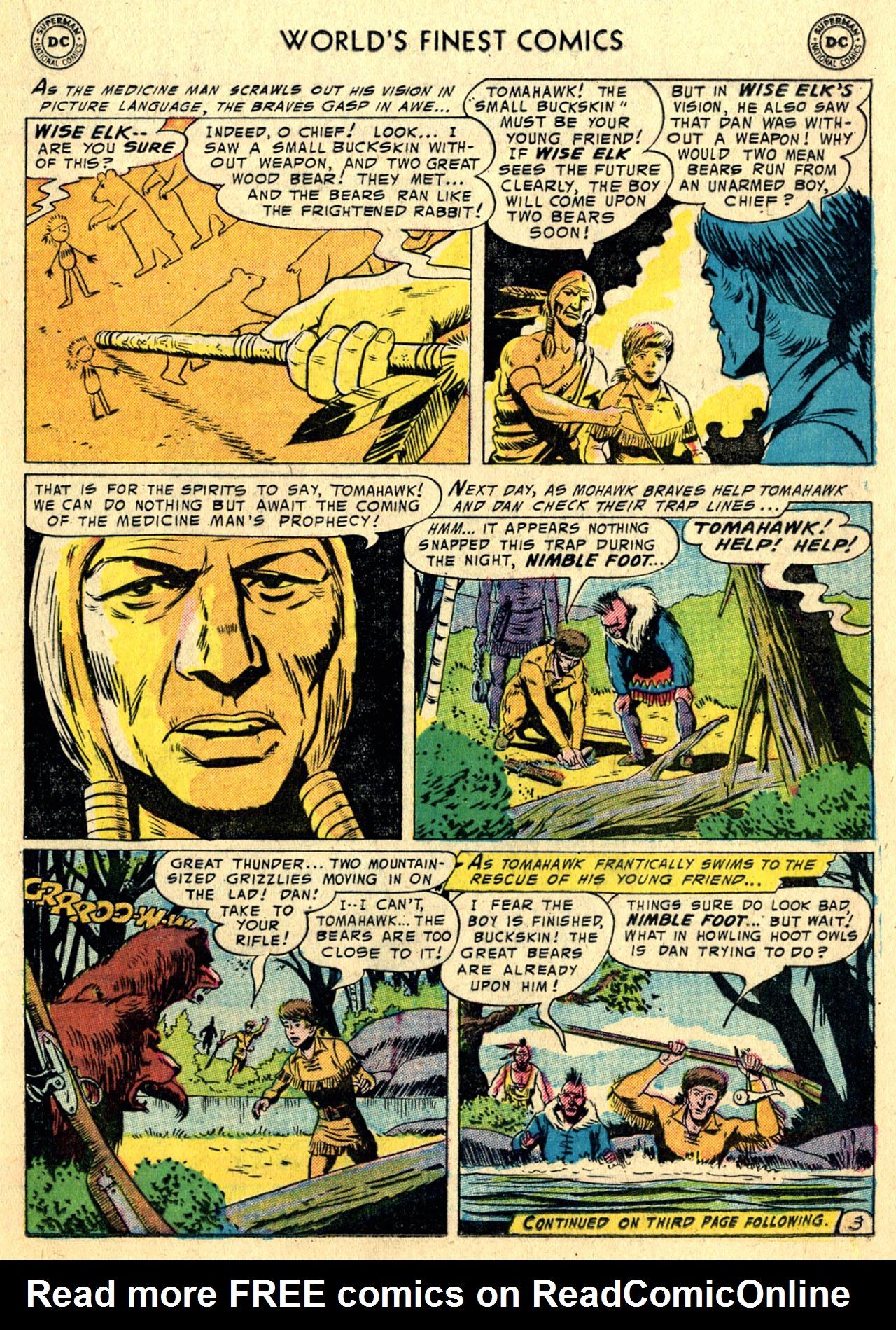 Read online World's Finest Comics comic -  Issue #82 - 17
