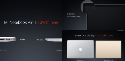 Xiaomi Siap Tantang Apple Dengan Notebook Air