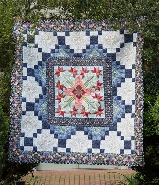 True Morris Quilt Free Pattern